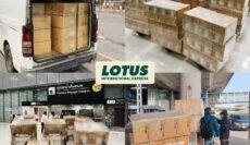 Shipment – Bangkok to Chicago via DOH,NRT