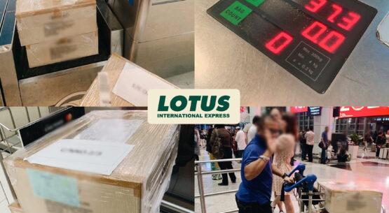 Shipment – Bangkok to Kuala Lumpur