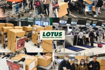 Shipment – Bangkok to Mexico via Narita